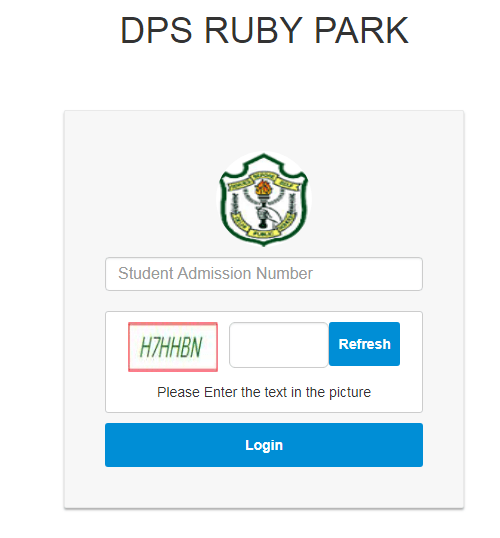 DPS Ruby Park Admission Form - www.dpskolkata.com Login