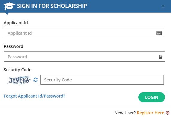 Swami Vivekananda Scholarship Applicant Login